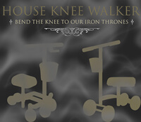 Blog post header image for House of Knee Walkers