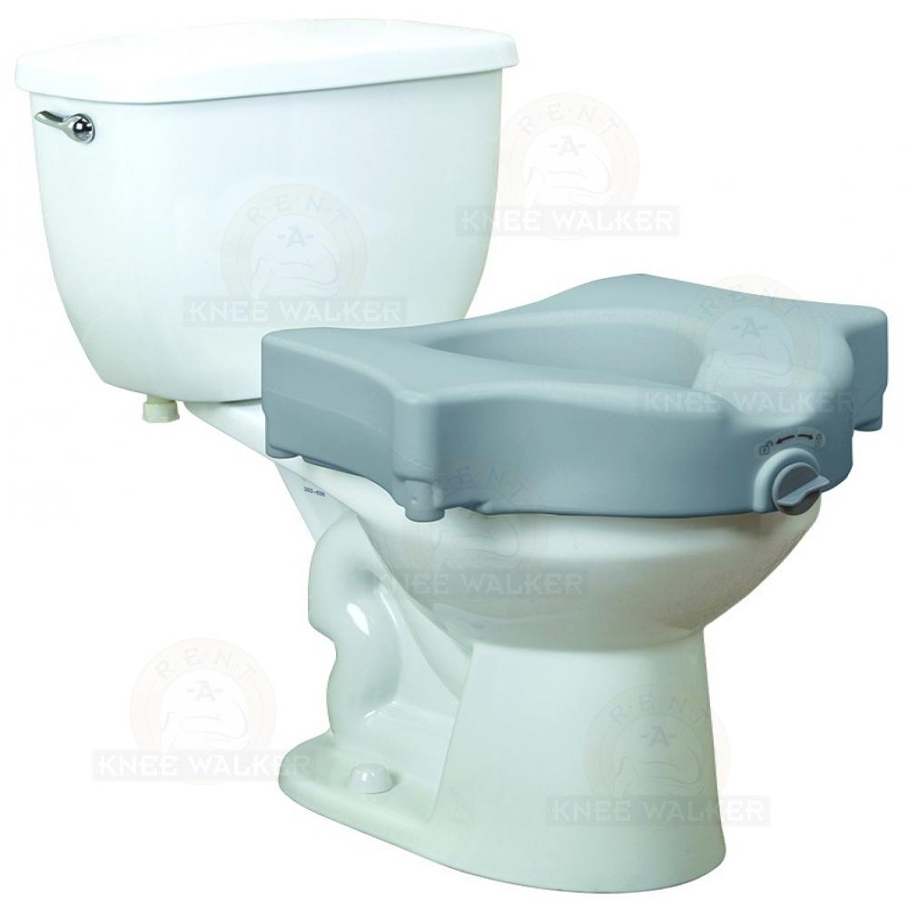 Incredible Raised Toilet Seat With Lock 600Lbs Large Photo 1 Rent A Ibusinesslaw Wood Chair Design Ideas Ibusinesslaworg