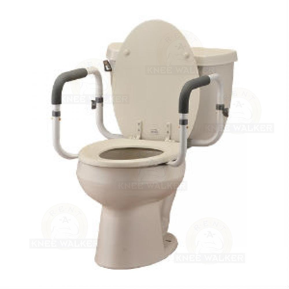 Toilet Support Rails 8201-R : Rent A Knee Walker