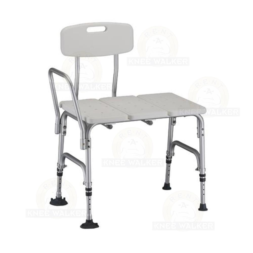 Tub Transfer Bench, Bariatric 500lbs 9075 : Rent A Knee Walker