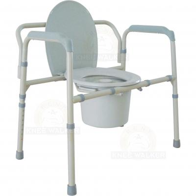 Commode, 3 in 1 Folding Bariatric 650lbs large photo 1