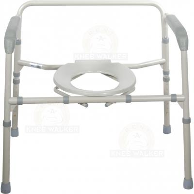 Commode, 3 in 1 Folding Bariatric 650lbs large photo 3