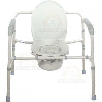 Commode, 3 in 1 Folding Bariatric 650lbs large photo 4