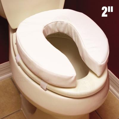 Raised Toilet Seat, Padded large photo 1