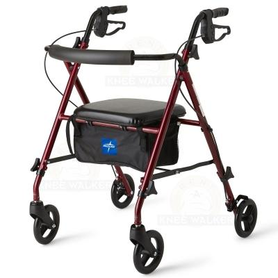 Rollator, 6 inch Wheels 250lbs Freedom Super Ultralight large photo 1