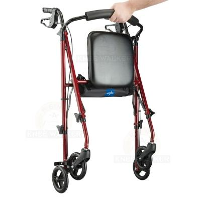 Rollator, 6 inch Wheels 250lbs Freedom Super Ultralight large photo 4