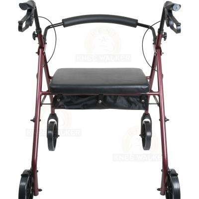 Rollator, Extra Wide Tall, 8in wheels, 400lbs large photo 3