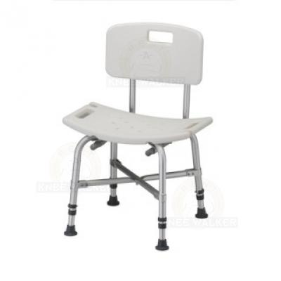 Shower Chair with Back, Bariatric 500lbs large photo 1