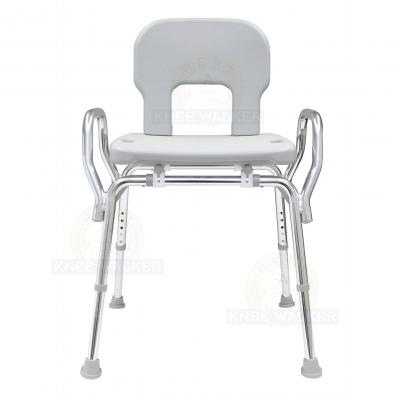 Shower Chair with Back and Arms, Bariatric 500lbs large photo 1