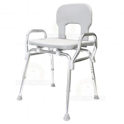 Shower Chair with Back and Arms, Bariatric 500lbs large photo 2
