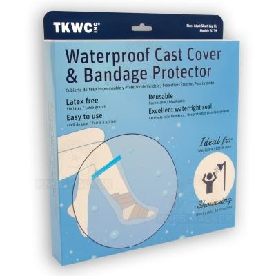 Water Proof Extra Wide Leg Cast Cover XL large photo 8