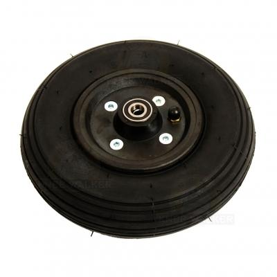 Wheel 8inch by 2inch Pneumatic Black (1545) large photo 1