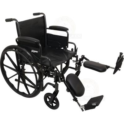 Wheelchair K2, Hemi with ELR, 300lbs large photo 1