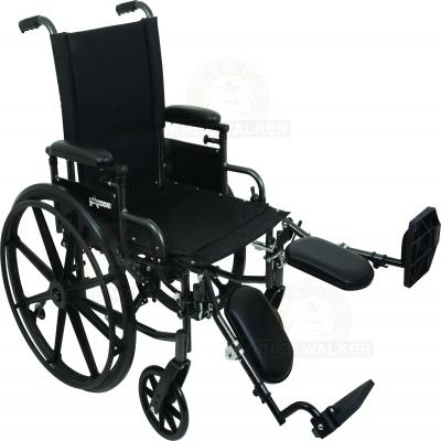 Wheelchair K4, 18in Seat with ELR 300lbs large photo 1