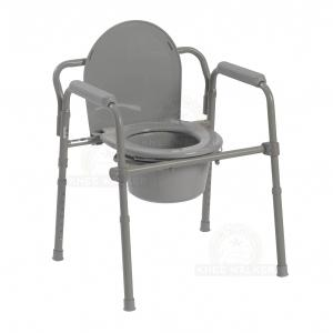 Thumbnail image of Commode, 3 in 1 Folding 350lbs