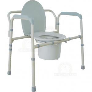 Thumbnail image of Commode, 3 in 1 Folding Bariatric 650lbs