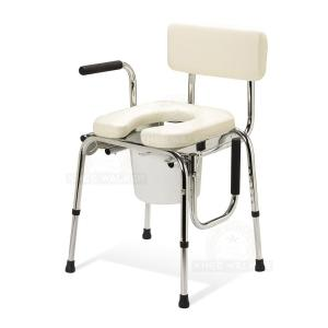 Thumbnail image of Commode, Drop Arm, Padded 350lbs