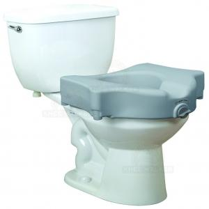 Thumbnail image of Raised Toilet Seat with Lock 600lbs