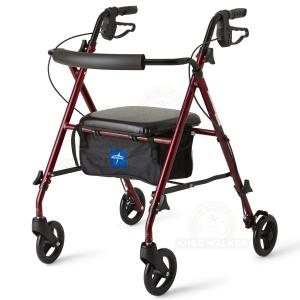 Thumbnail image of Rollator, 6 inch Wheels 250lbs Freedom Super Ultralight