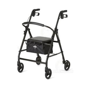 Thumbnail image of Rollator, 6 inch Wheels 300lbs Steel