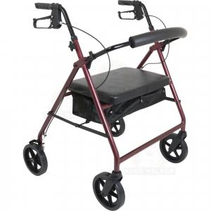 Thumbnail image of Rollator, Extra Wide Tall, 8in wheels, 400lbs