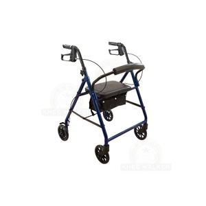 Thumbnail image of Rollator, Steel with 6in Wheels 300lb