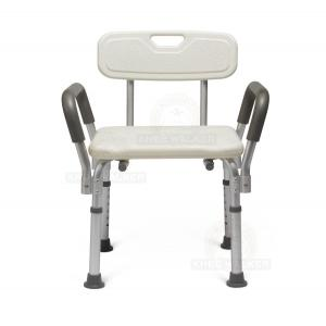 Thumbnail image of Shower Chair with Back and Arms, 350lbs
