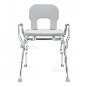 Thumbnail image of Shower Chair with Back and Arms, Bariatric 500lbs
