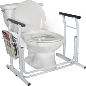 Thumbnail image of Toilet Support Rails, 300lbs Free-Standing