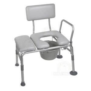 Thumbnail image of Tub Transfer Bench, Padded Commode 400lbs