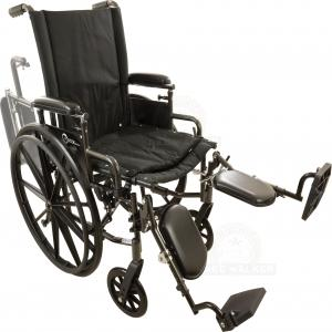 Thumbnail image of Wheelchair, Onyx K4 with ELR 300lbs