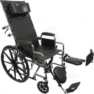 Thumbnail image of Wheelchair, Reclining with ELR, 300lbs