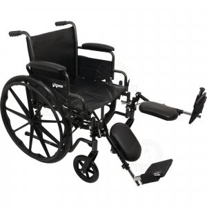 Thumbnail image of Wheelchair K2, Hemi with ELR, 300lbs