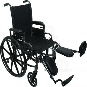 Thumbnail image of Wheelchair K4, 18in Seat with ELR 300lbs