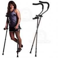 Crutches, Ergonomic, Pair