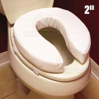 Thumbnail image of Raised Toilet Seat, Padded