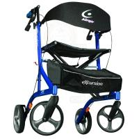 Rollator, 8 inch wheels, 300lbs Airgo