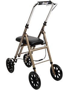 Angled photo of the Drive Standard Knee Walker