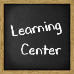 Leanring Center Blackboard Graphic