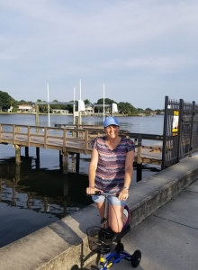 using a Knee Walker from Pinellas Park Florida June 2019