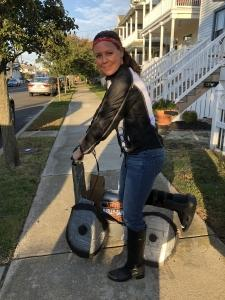 using a Swivelmate Knee Walker from  Ocean City New Jersey November 2018