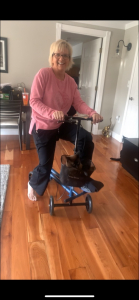 using a Evolution Seated Scooter from Brockton Massachusetts March 2021