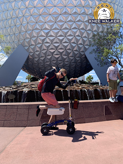 Knee Walker Photo Contest Fall 2019 - Michael!