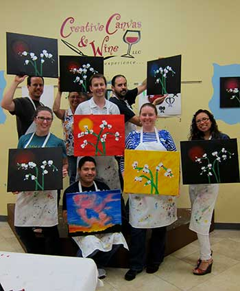 The Rent A Knee Walker Team showing our artistic side