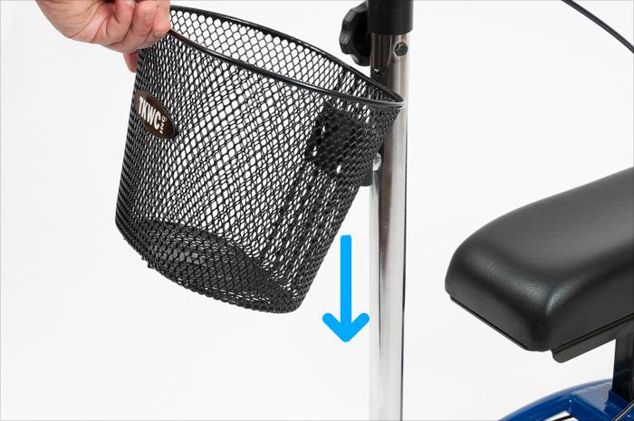 knee scooter travel basket