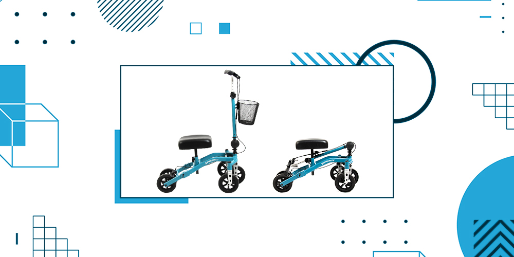 The Best Foldable Knee Scooter Large Image