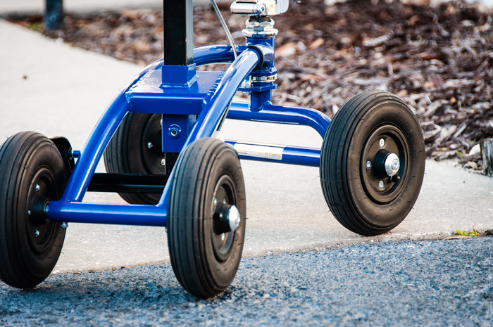 all terrain knee scooter pneumatic tires