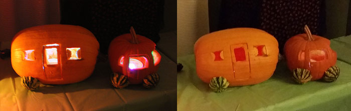 Camper Pumpkin 2015 Winner