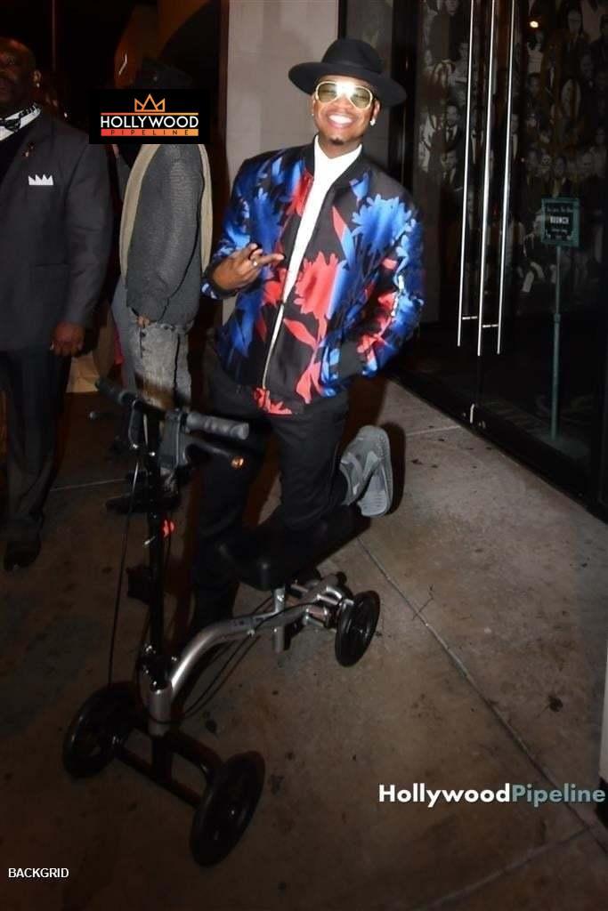 Ne-Yo  On a Nova Knee Scooter
