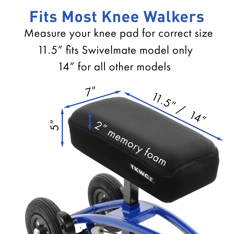 Memory Foam Fits Knee Walkers